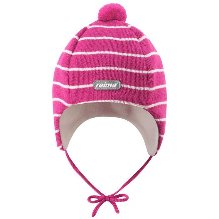 Image of Baby hue i uld (dobbeltforet) fra Reima - Ehyt - Pink (518113-255-)