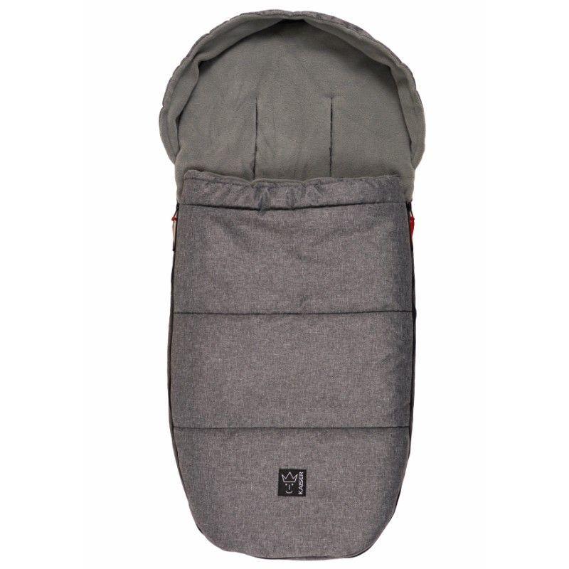 Kørepose 2i1 fra Kaiser (også Bugaboo) - LOUIS - Grey Melange