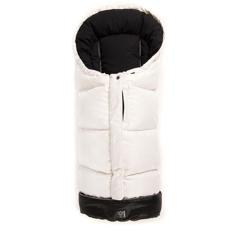 Dun kørepose XL fra Kaiser - Dowwny - White