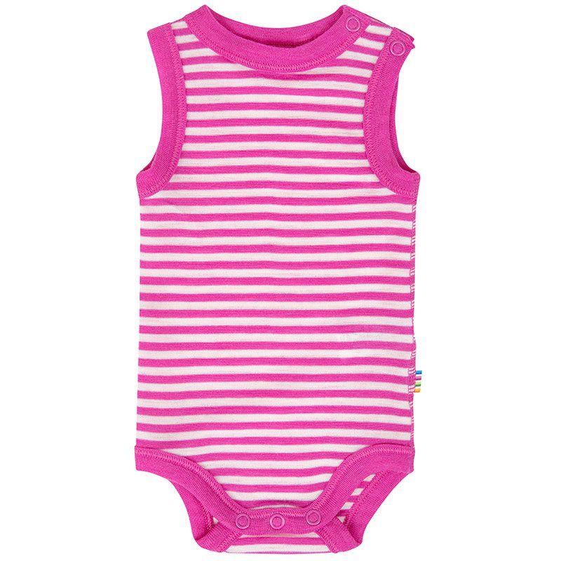 Image of Body fra Joha - Sommer uld - U/Æ - Pink Stripe (68911-355-6592)