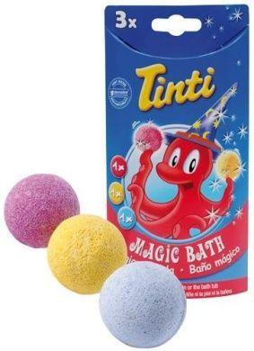 Tinti – Tryllekugler til badet fra tinti - magic bath (3 stk) på babygear.dk