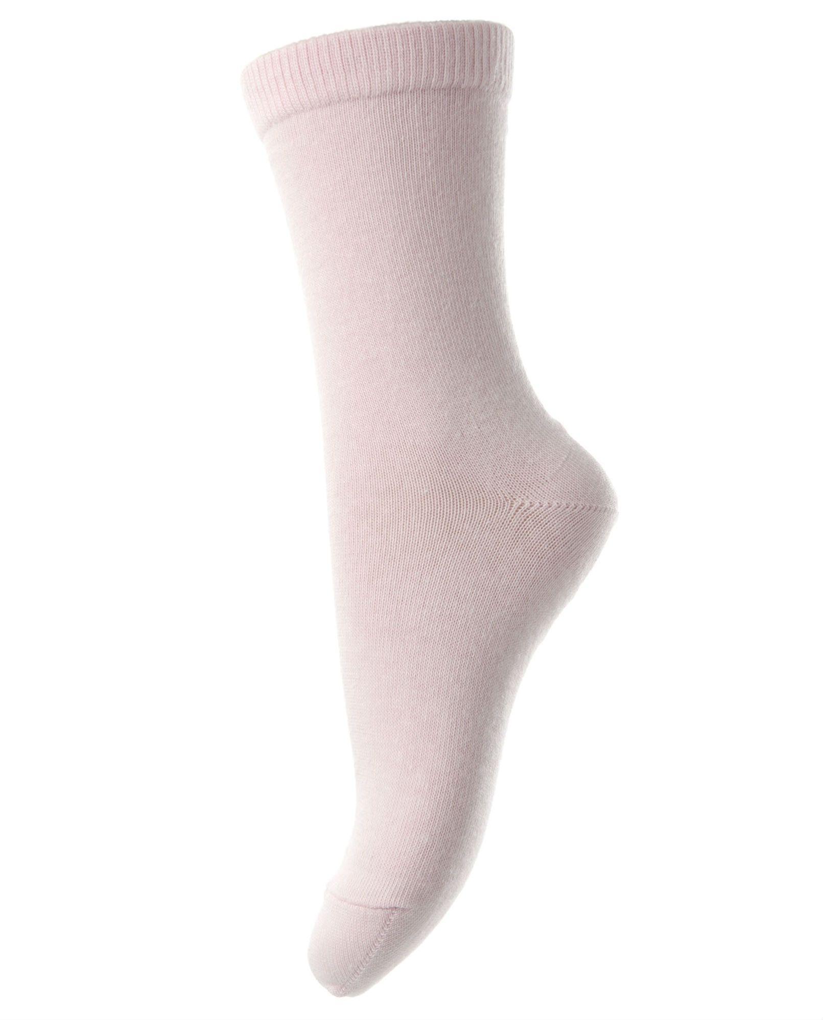 Image of Strømper i bomuld fra MP - Sart rosa (700-38)