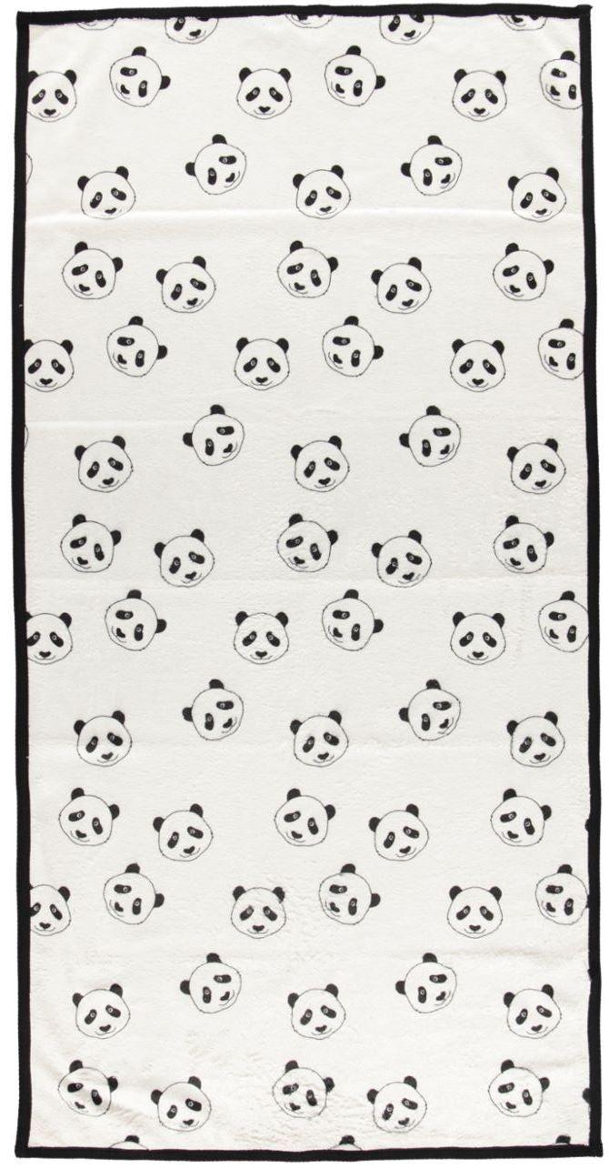 Image of   Håndklæde fra Småfolk - Panda (50x100)