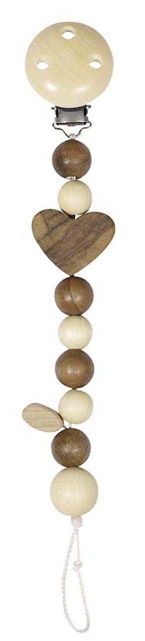 Image of   Universal suttesnor i bæredygtigt træ - Heimess Nature - Hjerter