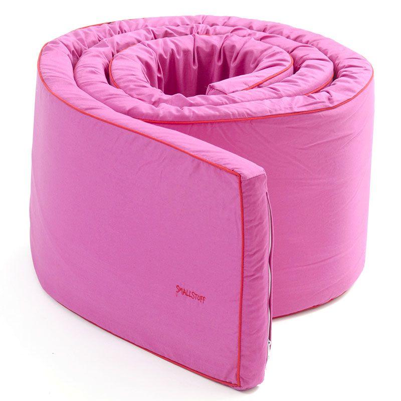 Image of   Sengerand fra Smallstuff - Ensfarvet - Pink