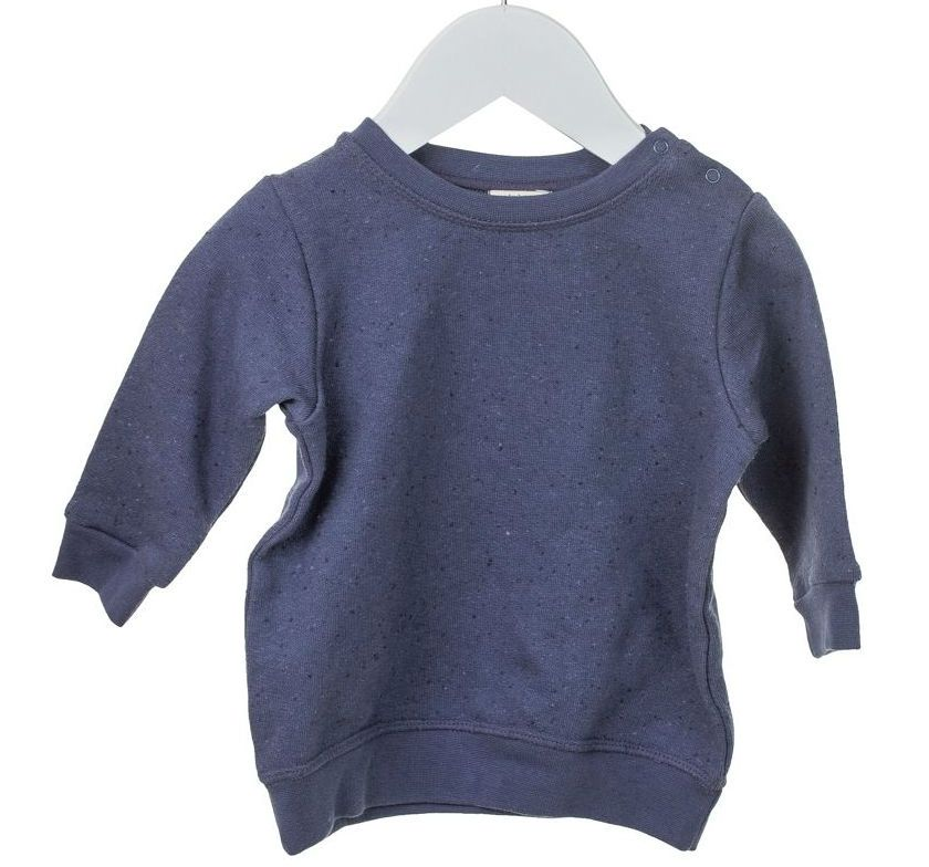 Image of   Sweatshirt fra MiniPop - Navy Black Melange