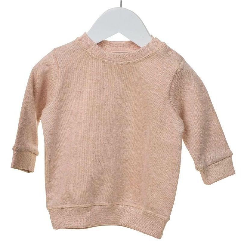Image of   Sweatshirt fra MiniPop - Rose Lurex