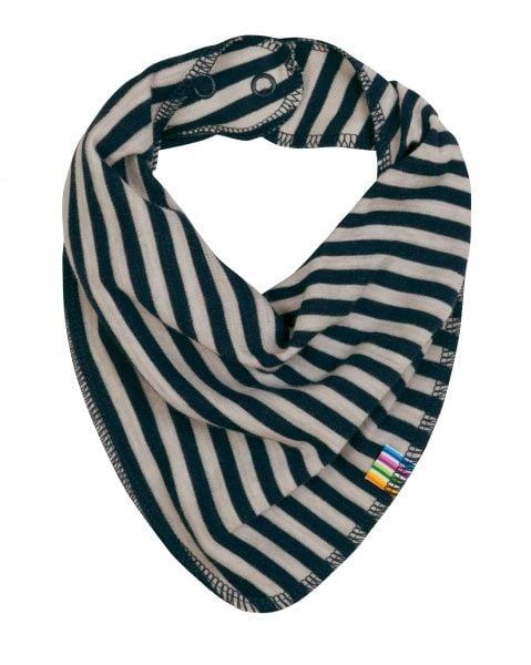 Image of Savlesmæk fra Joha i uld-bomuld m. Blue-grey stripe (98334-43-6927)