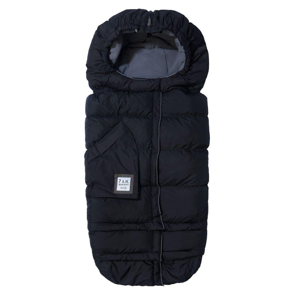 7am Kørepose fra 7a.m. - 212 evolution - 3 sizes - black på babygear.dk