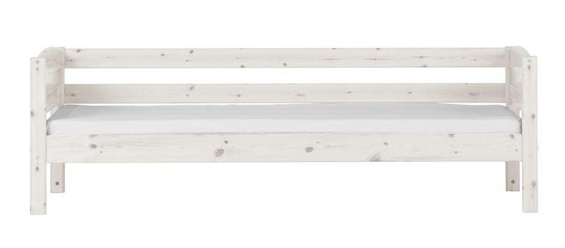 Sengehest til Flexa Trendy - fuld længde - Whitewash (200x90)