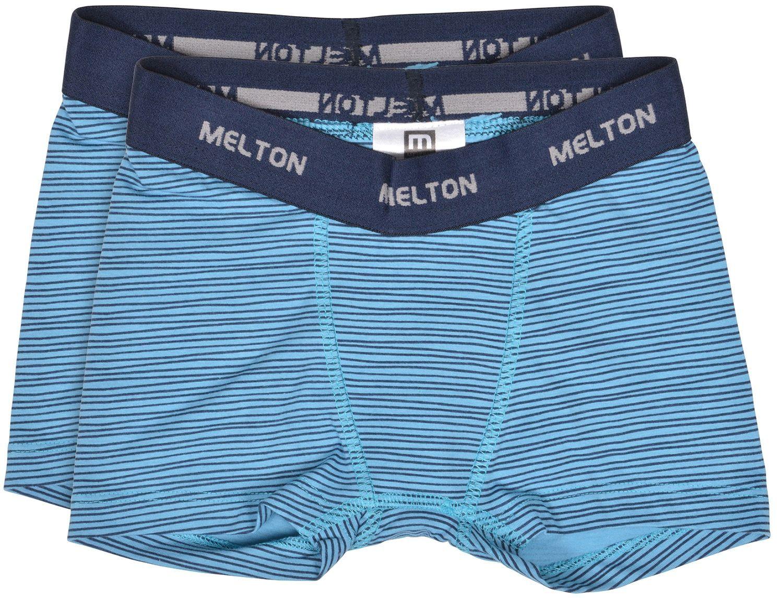 Image of Boxershorts fra Melton - Stripes Blue (2-pak) (800655-286)