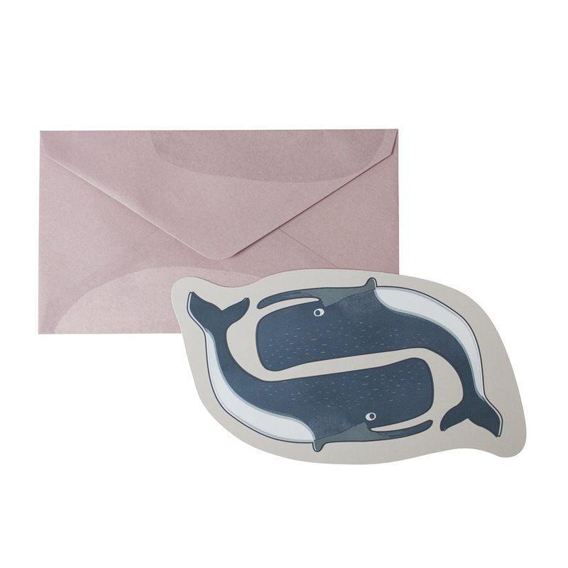 Kort med kuvert fra Sebra - Arctic animals