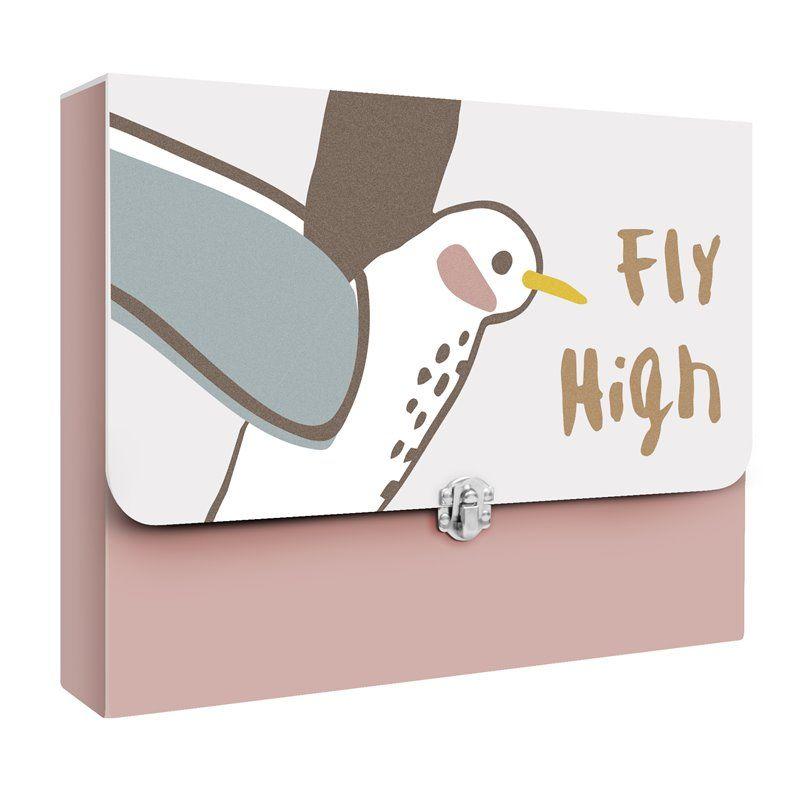 Billede af Opbevaring til tegninger Fra Sebra - Singing Birds
