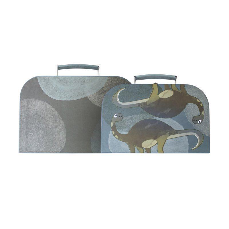 Kuffertsæt fra Sebra - Dino (2 stk)