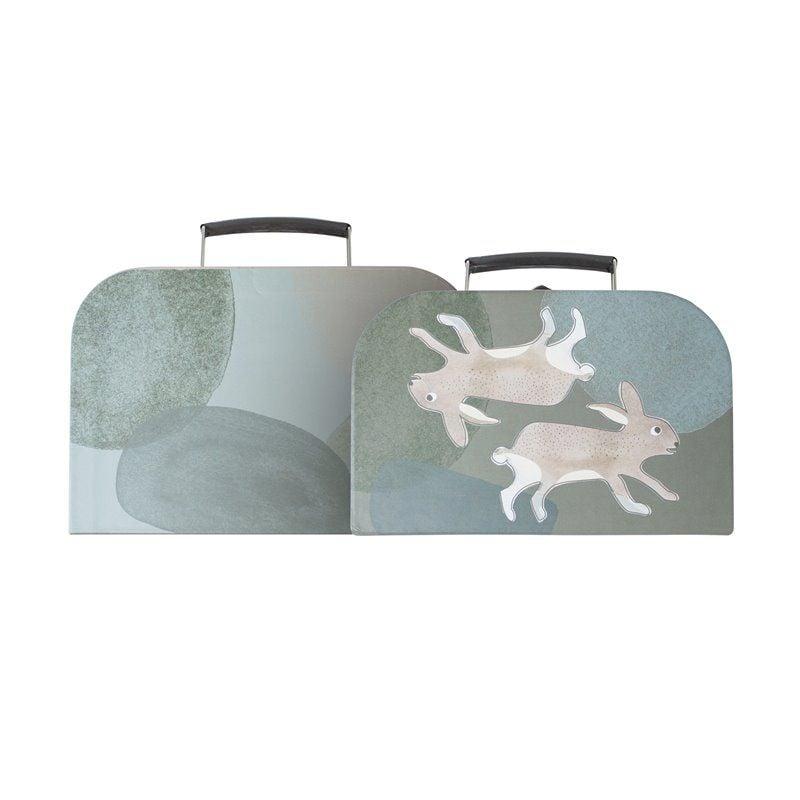 Kuffertsæt fra Sebra - Arctic animals (2 stk)