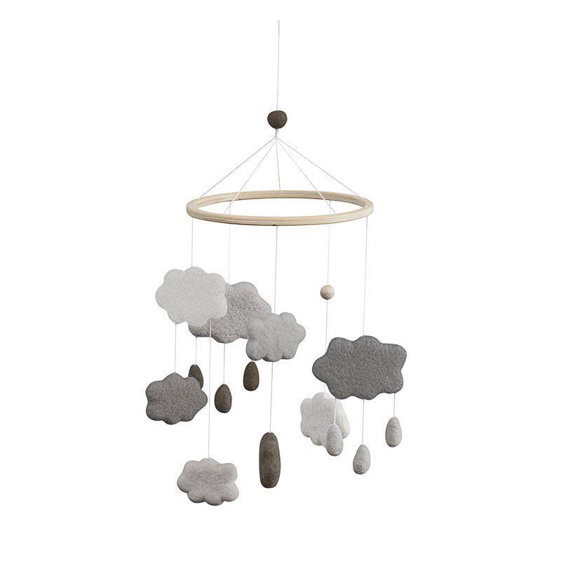 Uro i filt Fra Sebra -  skyer -  warm grey