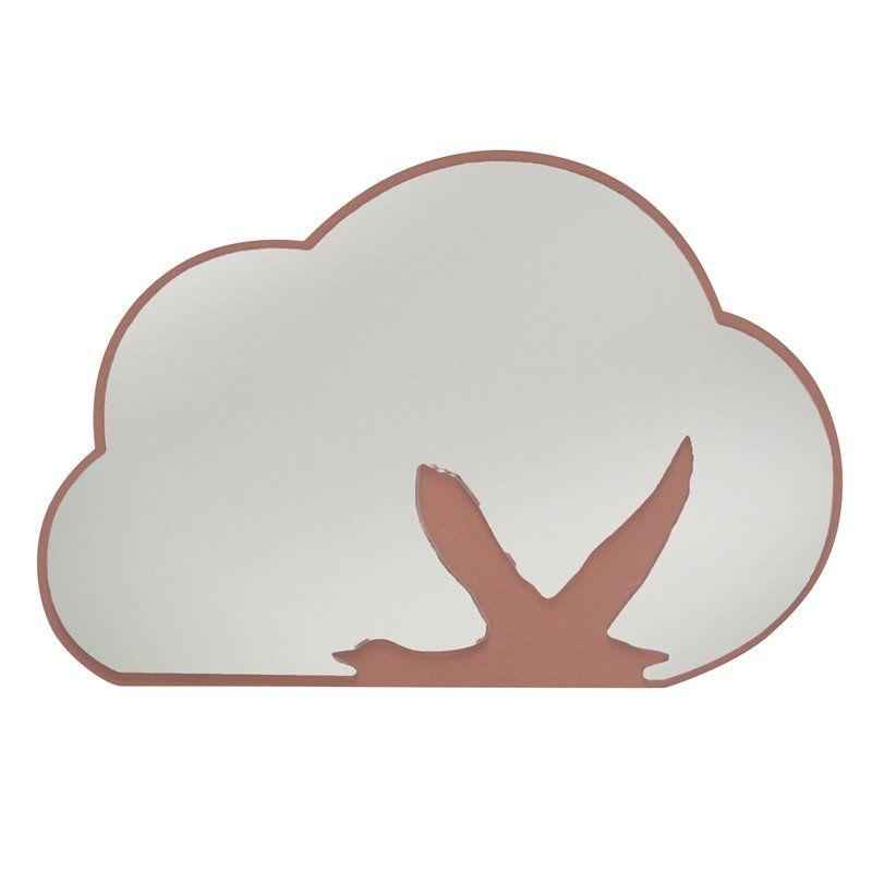 Image of Spejl med baggrund af træ fra Sebra - sky med svane (8020201)