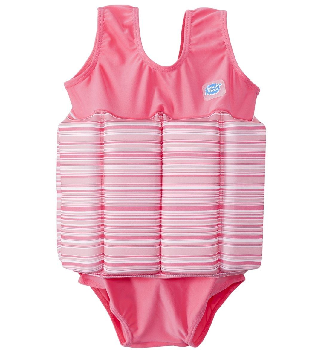 Image of   Badedragt m. opdrift fra Splash About - Floatsuit - Pink Candy