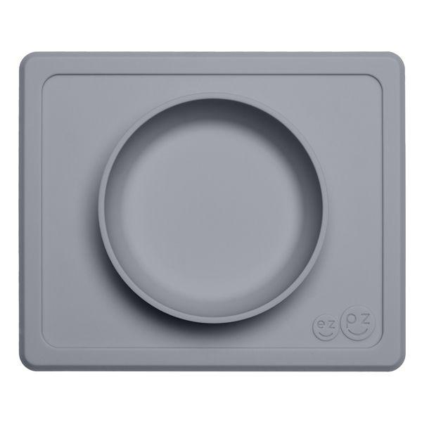 Image of Dyb tallerken fra EZPZ - Til bakkebord - Mini Bowl - Grey (EZPZ1021)
