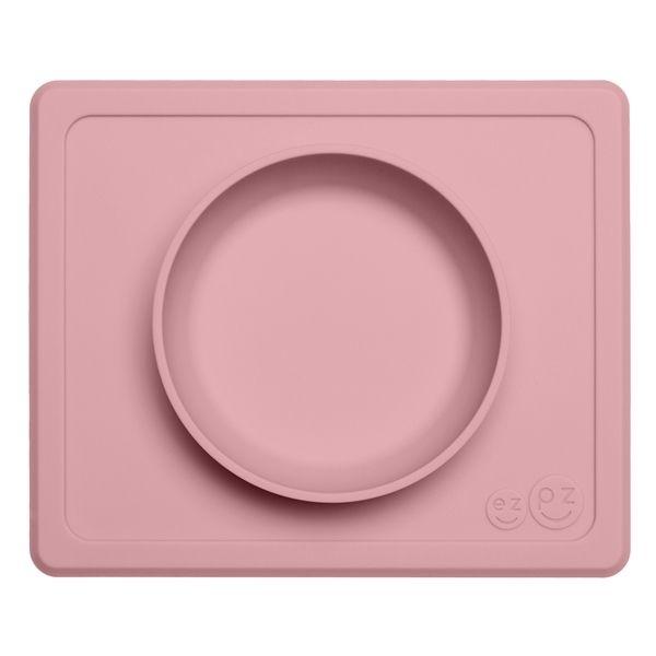 Image of Dyb tallerken fra EZPZ - Til bakkebord - Mini Bowl - Rosa (EZPZ1024)