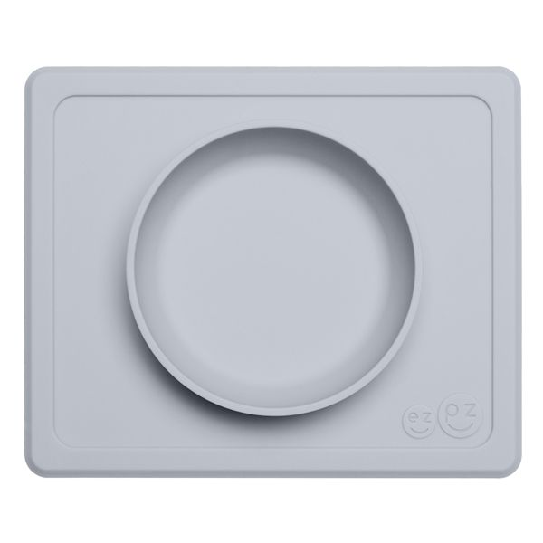Image of   Dyb tallerken fra EZPZ - Til bakkebord - Mini Bowl - Light Grey