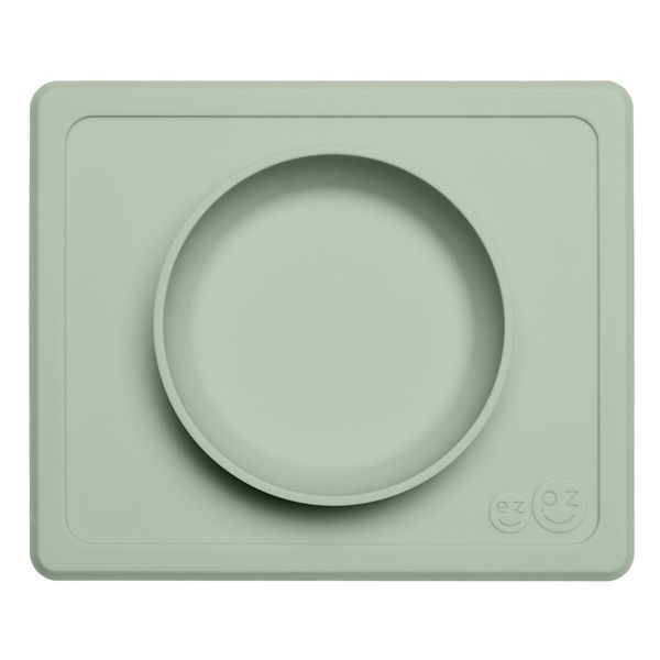 Image of   Dyb tallerken fra EZPZ - Til bakkebord - Mini Bowl - Dusty Green
