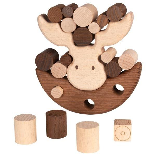 Image of Balancespil fra Goki Nature - Moose balancing game (56692)