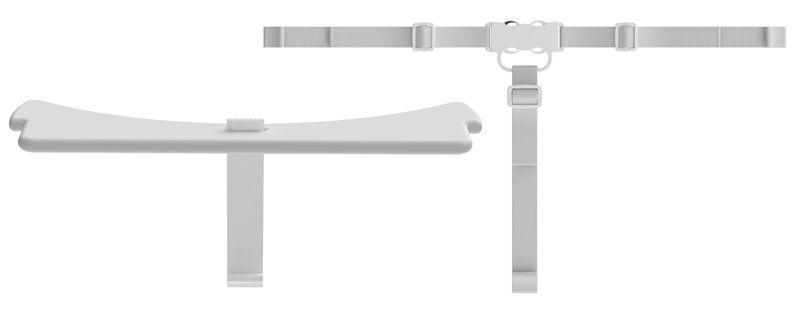 Image of Sikkerhedsbøjle og T-sele til Flexa højstol - Hvid (82-10023-40)
