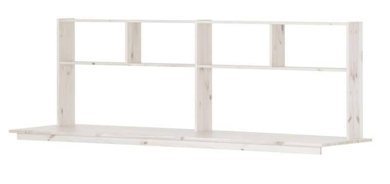 Image of   Skrivebord og hylder til Flexa Trendy Højseng - whitewash
