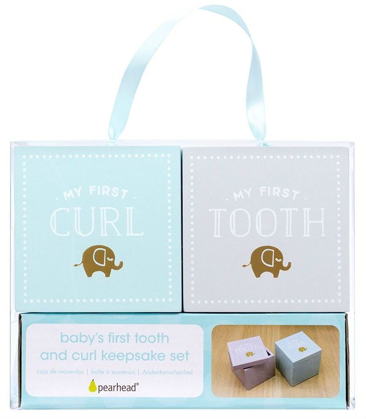 Image of Babys first tooth and curl keepsake set fra Perhead (83013)