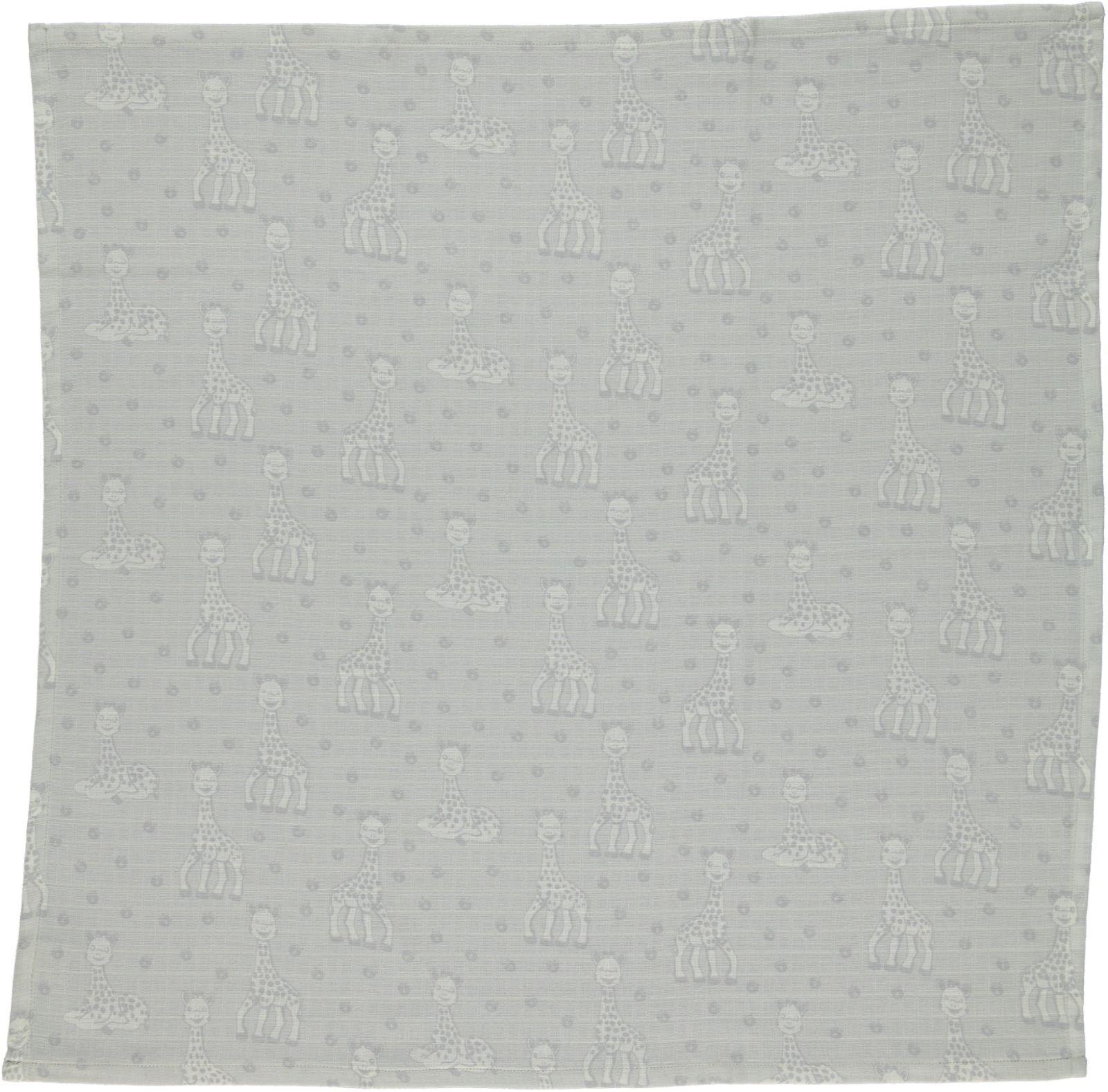 Stofble fra Småfolk og Sophie Giraf - Økologisk - Grey