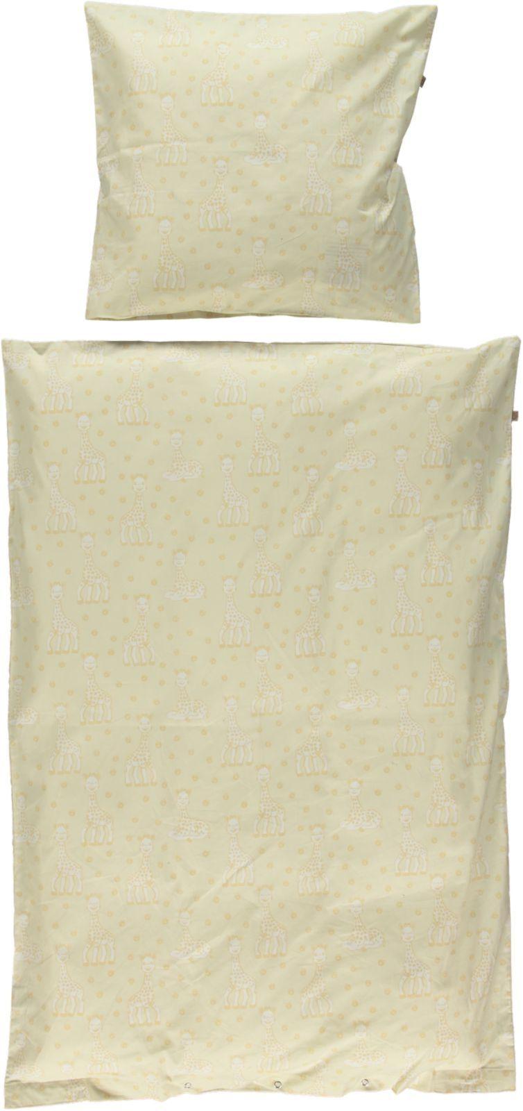 Sengetøj fra Småfolk og Sophie Giraf - Økologisk - Frozen Dew