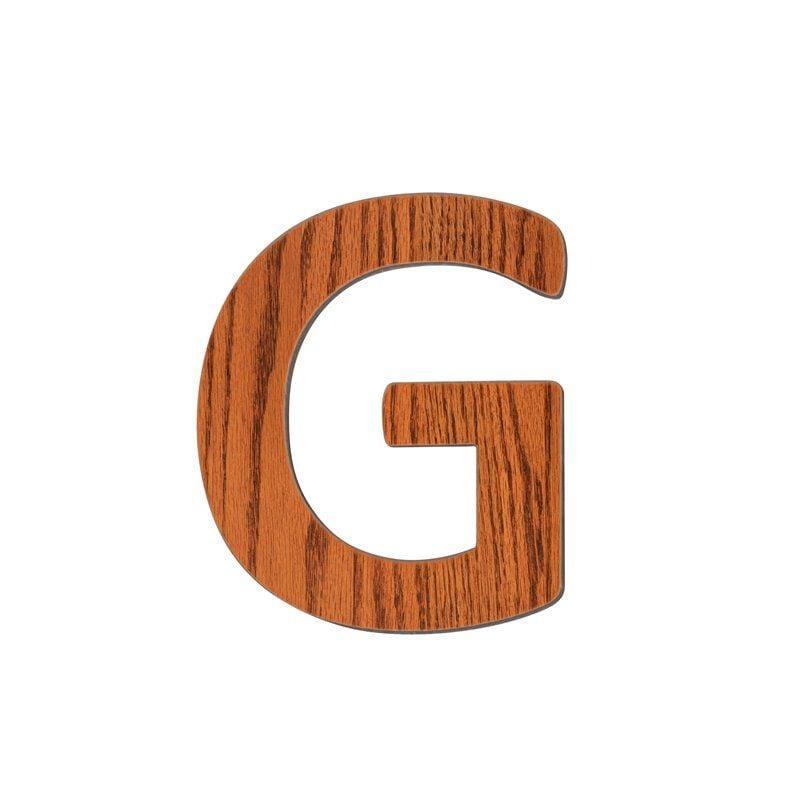 Image of   Bogstav, G fra Sebra - træ