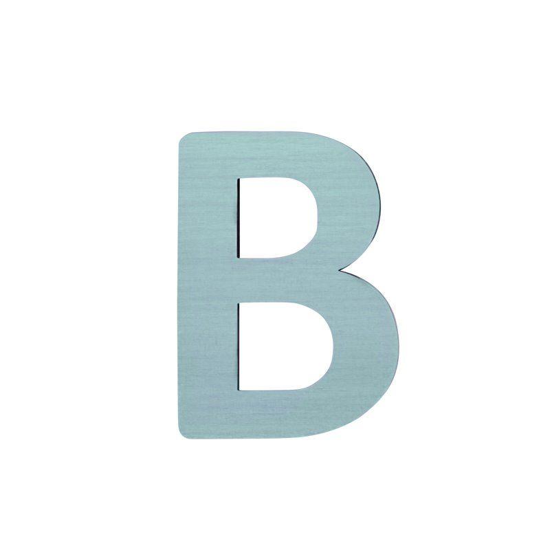Image of   Bogstav, B fra Sebra - pastel dreng