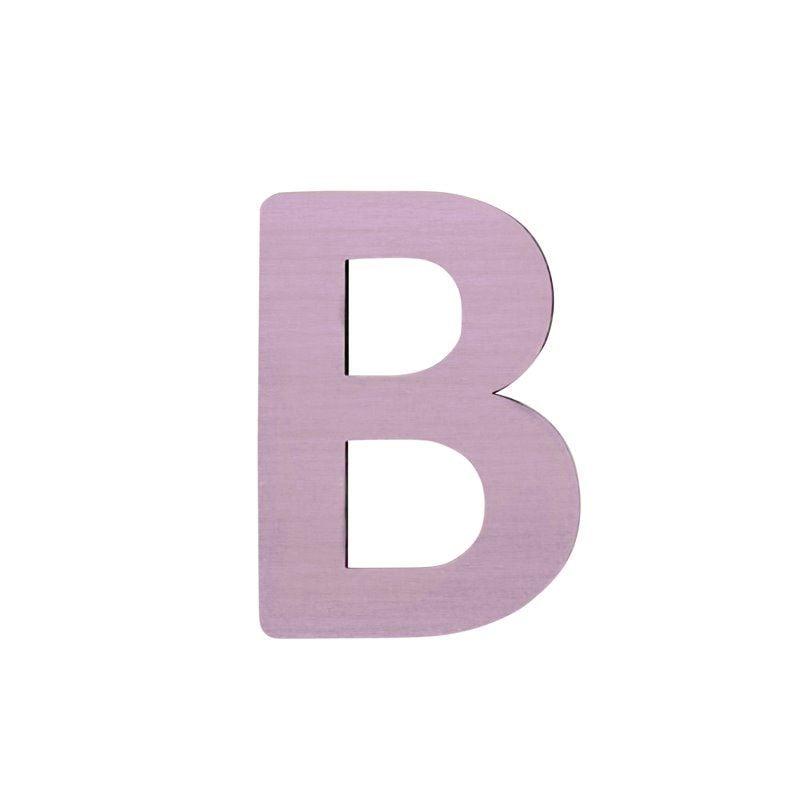Image of   Bogstav, B fra Sebra - pastel pige