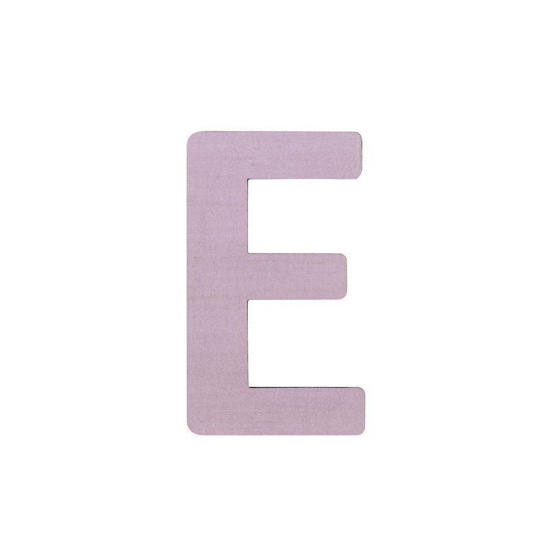 Image of   Bogstav, E fra Sebra - pastel pige