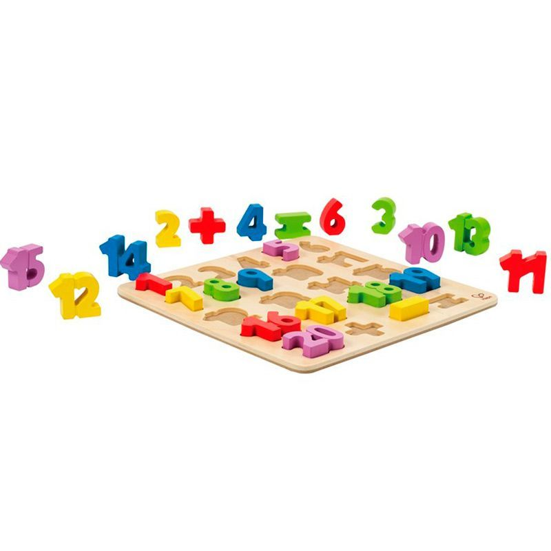 Image of Numbers Puzzle fra Hape (5855)