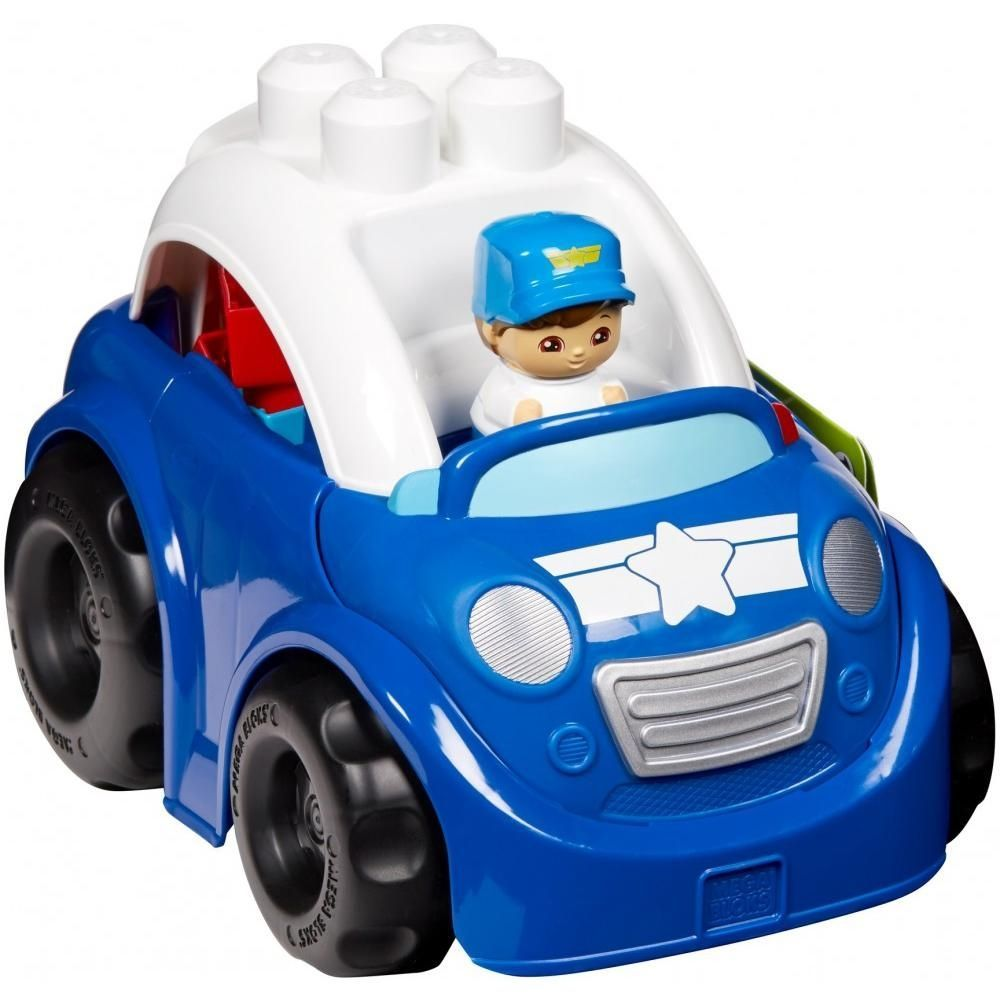 Image of Mega Bloks fra Fisher-Price - Peter Police Car (MGB-TOY04)