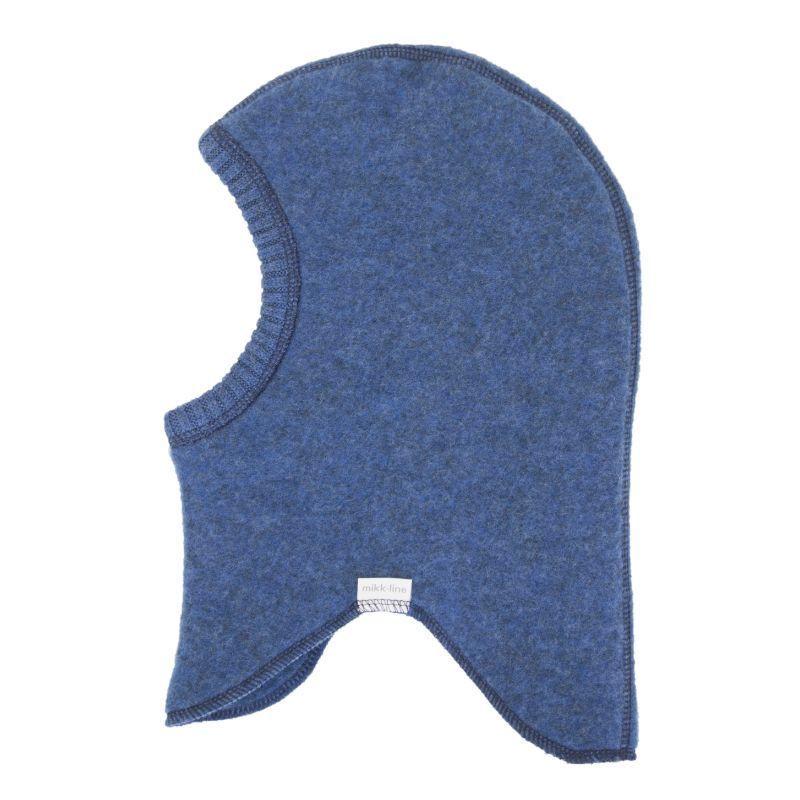 Image of   Elefanthue fra Mikk-Line - Soft Wool - Blue melange
