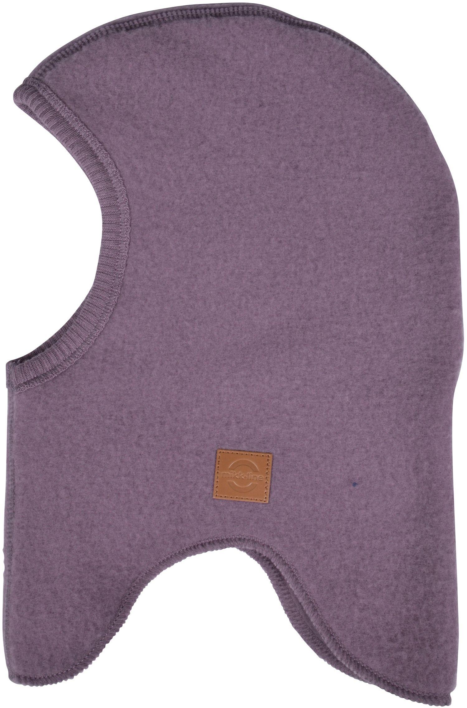 Elefanthue fra Mikk-Line - Soft Wool - Støvet blomme