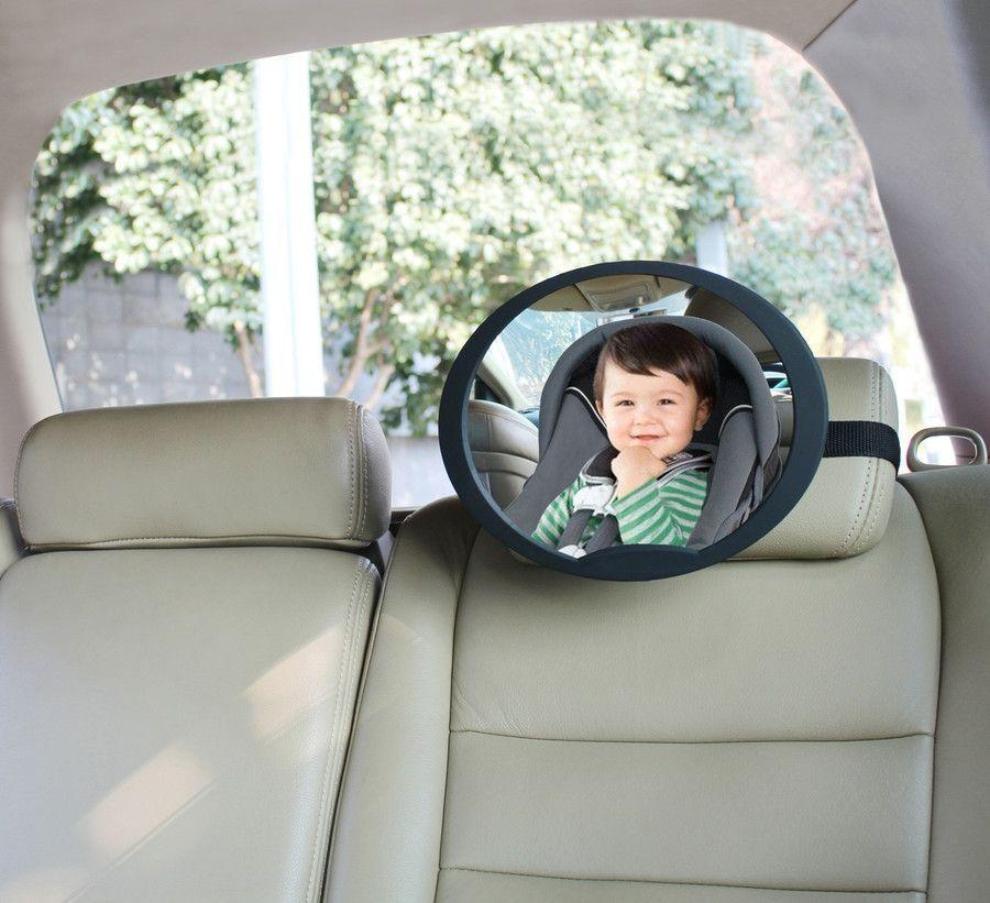 Babydan Bagsædespejl fra babydan - bagudvendt autostol - 360 - ufo på babygear.dk