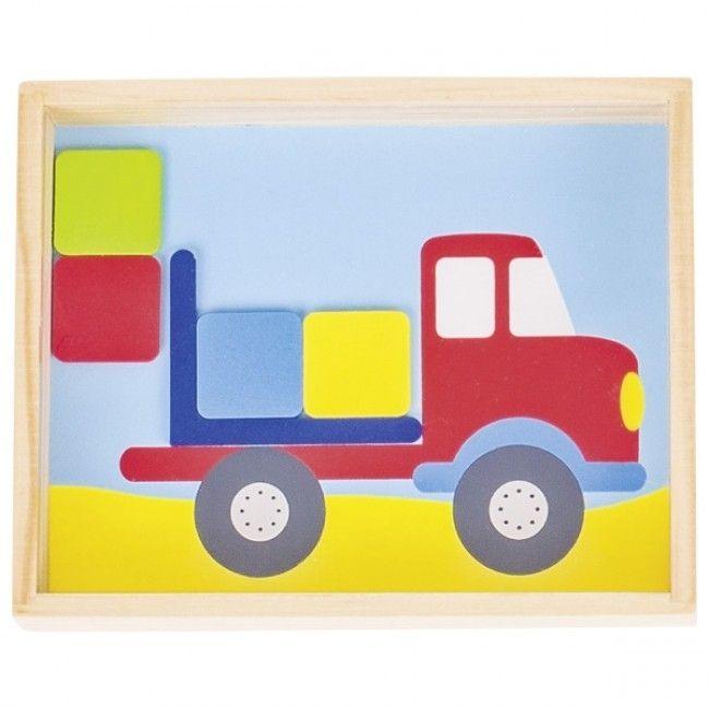 Image of Koncentrationsspil fra Goki - Game of skill - Lastbil (5+) (62918_truck)