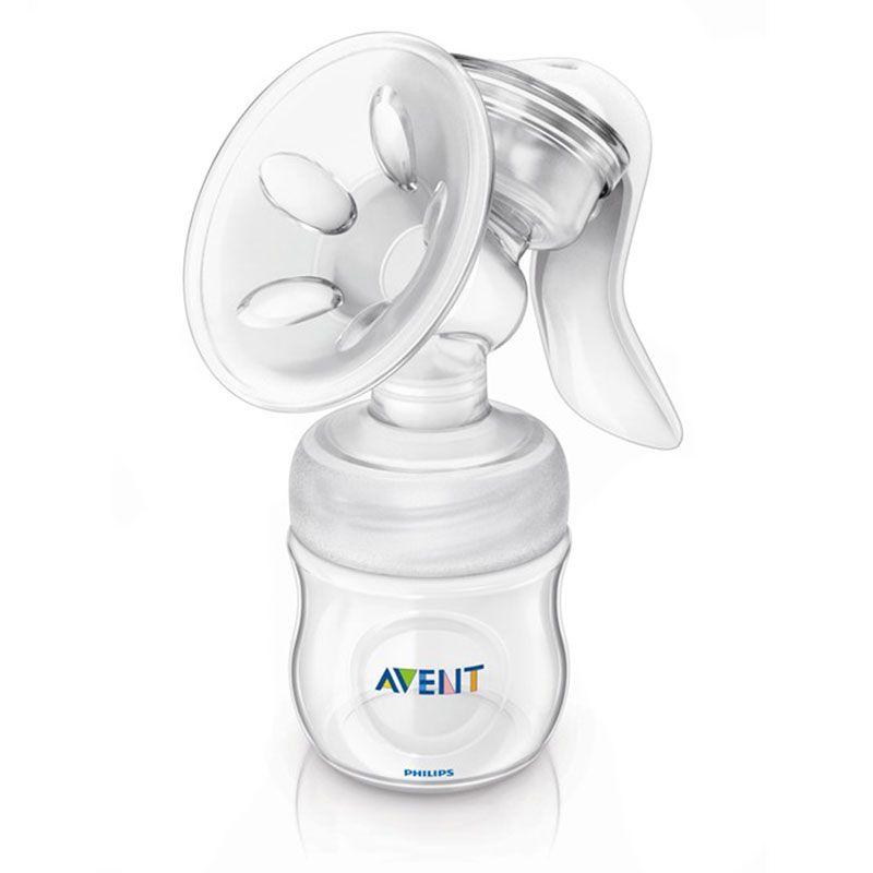 Image of Manuel brystpumpe fra Philips AVENT NATURAL (m. sutteflaske) (AVT-FED05)