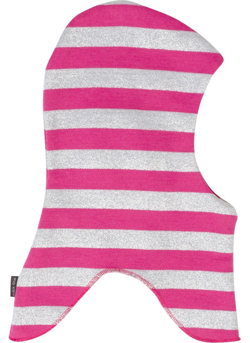 Elefanthue i uld fra Mikk-Line - m. windbreaker - Pink / Silver