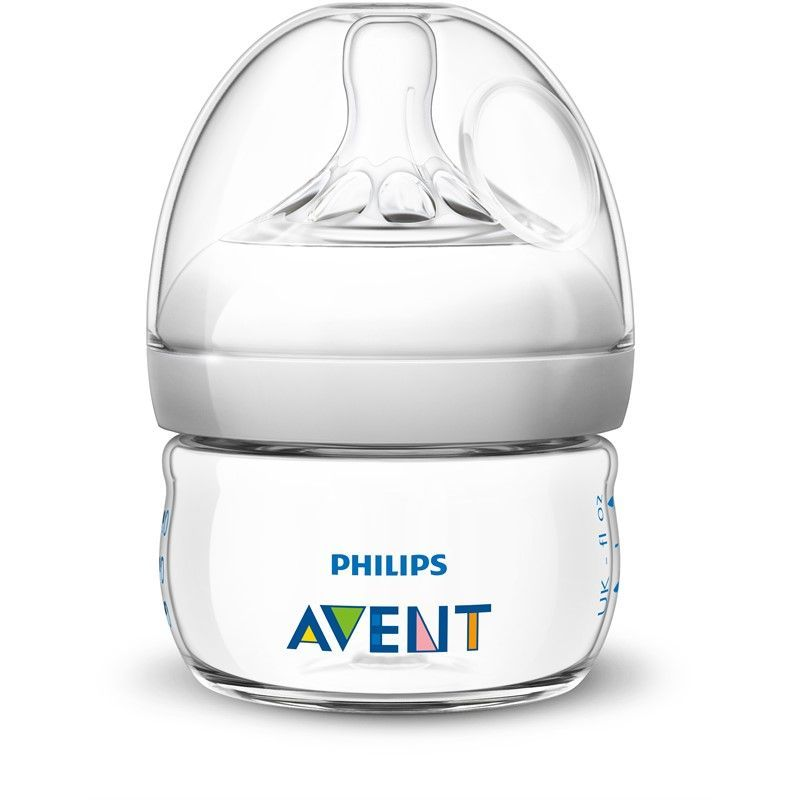 Image of Sutteflaske fra Philips AVENT - PP - Natural - 0m+ (60ml) (9112)