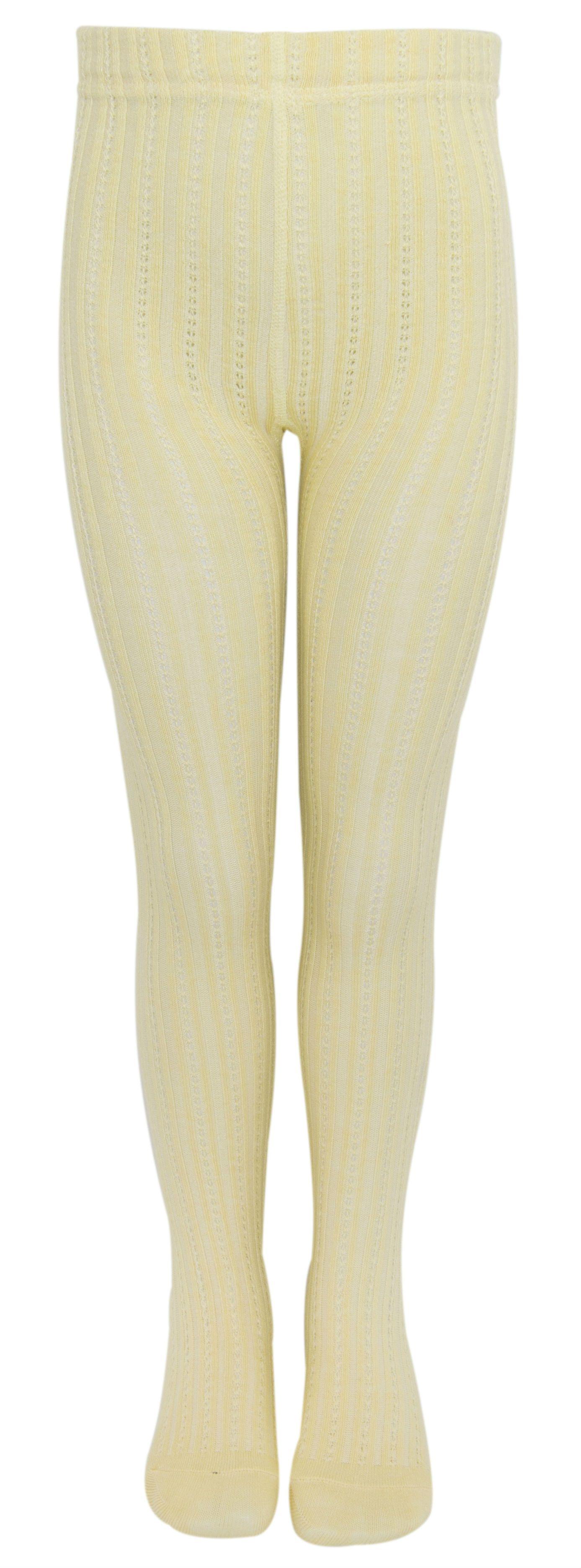 Image of Bambus strømpebukser fra Melton - Creamy Yellow (920010-601)