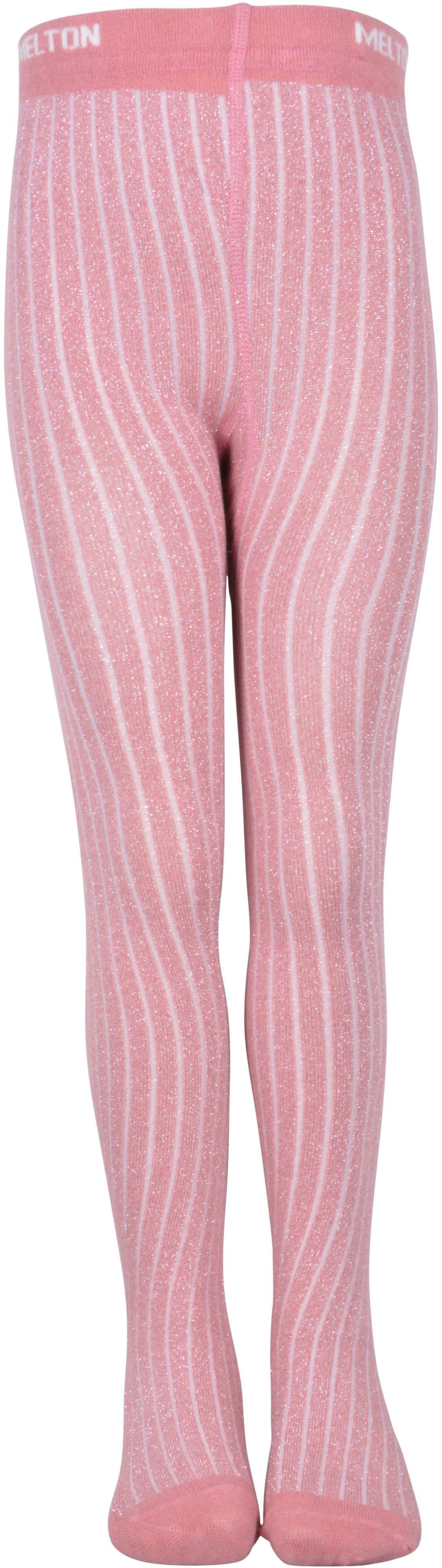 Image of Bambus glimmer strømpebukser fra Melton - Dusty rose (922001-519)