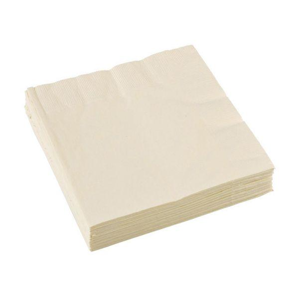 Image of Servietter - Vanilla Creme (20 stk) (51015-57)