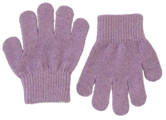 Image of Trylle fingervanter fra Mikk-Line - Uld-strik - Lavendel (93002-703)