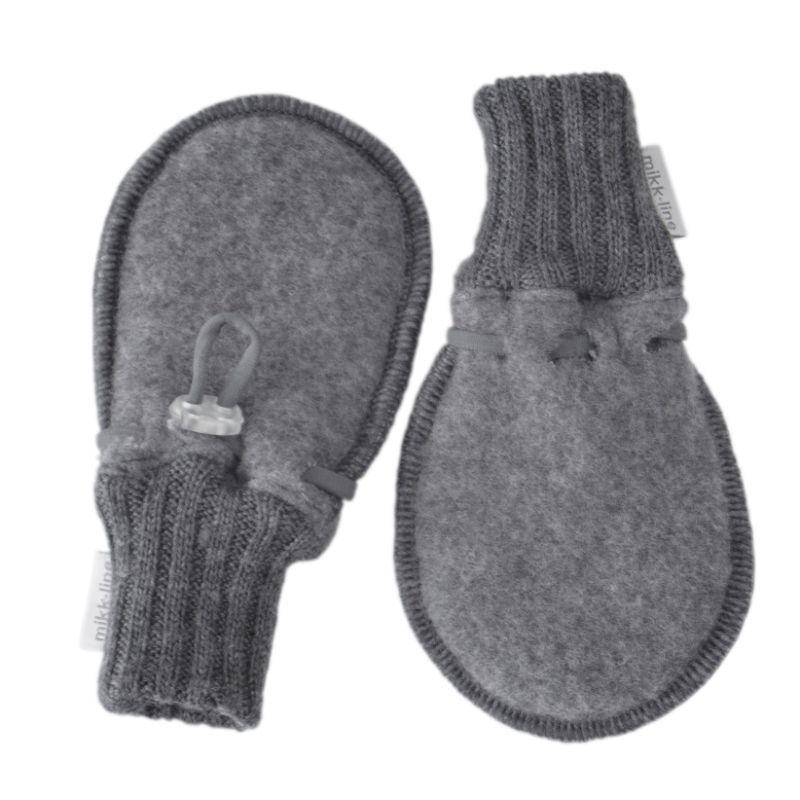 Image of   Luffer fra Mikk-Line - Soft Wool - Grey melange